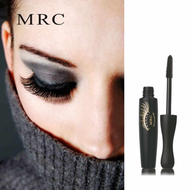 a8212a1a18d ... MRC Brand Makeup 3d Fiber Lashes Mascara Volume Eyelashes Curling Thick  Black Ink For Waterproof Cosmetics ...