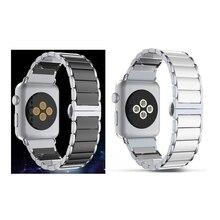 Новый продажи высокое качество керамический стальной браслет для Apple , часы 38 / 42 мм с адаптером