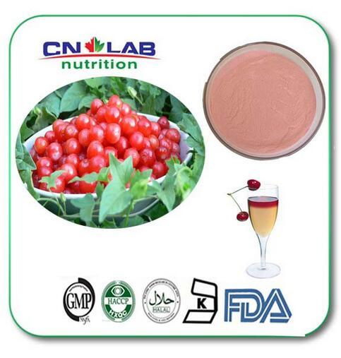 1000g Wholesale  Vitamin C Acerola Cherry P.E / Acerola Cherry Fruit Powder herb sky nutrition high quality acerola cherry powder vitamin c acerola cherry vc 25%