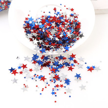 3/6/10mm 15g Mix Color Five-pointed Star Confetti Sequins Christmas Decor For Home Party Decor/Wedding Throw