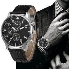 a61685676f14b 2019 رجل الساعات الفاخرة ساعات كوارتز ووتش أحزمة جلدية أزياء ساعة رخيصة ساعة  يد رياضية relogio