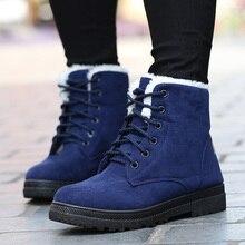 Бесплатная доставка Зимние ботинки зимние ботильоны женская обувь Большие размеры обувь модные зимние женские ботинки на каблуках сезона 2016 г. модная обувь