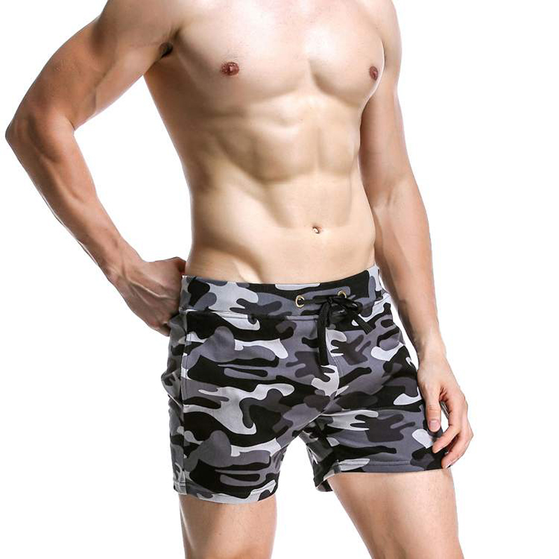 Yanlian1 2019 Mens Swimsuit Swimming Shorts Men Briefs Beach Shorts Sports Suits Surf Board Shorts,Black,L
