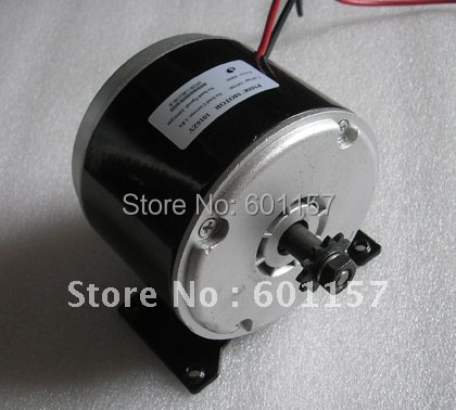 24V 350W permanent magnet DC motor used at electric scooter with CE