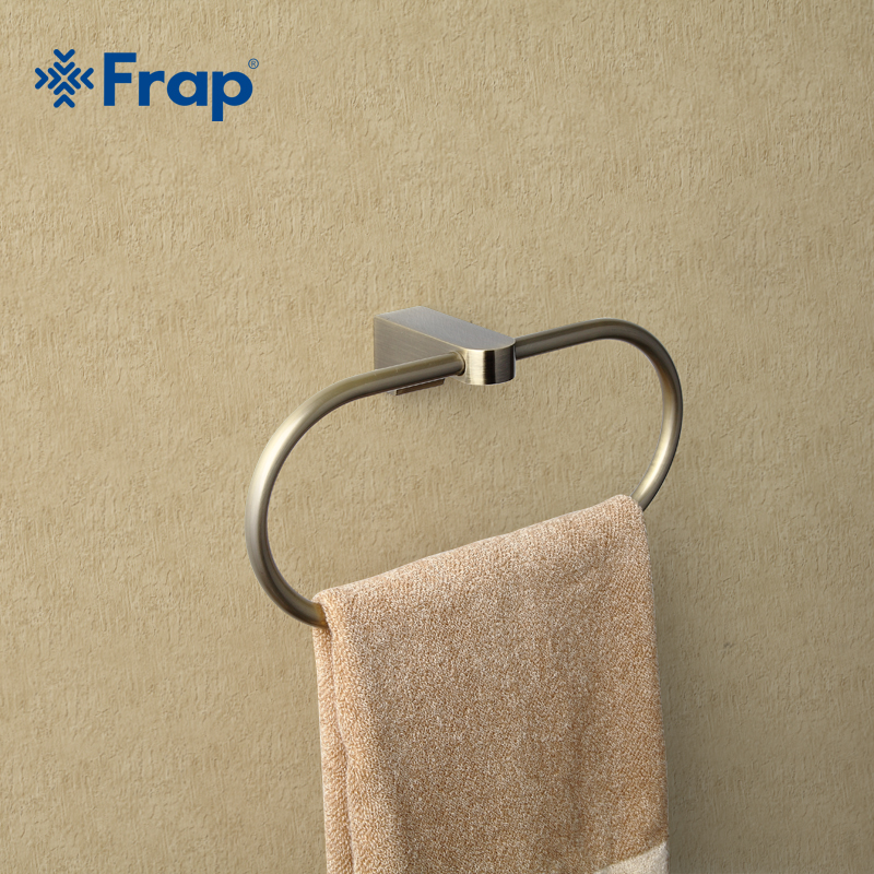 Frap Antique Style Ring Wall Mount Towel Ring Bathroom Accessories ...