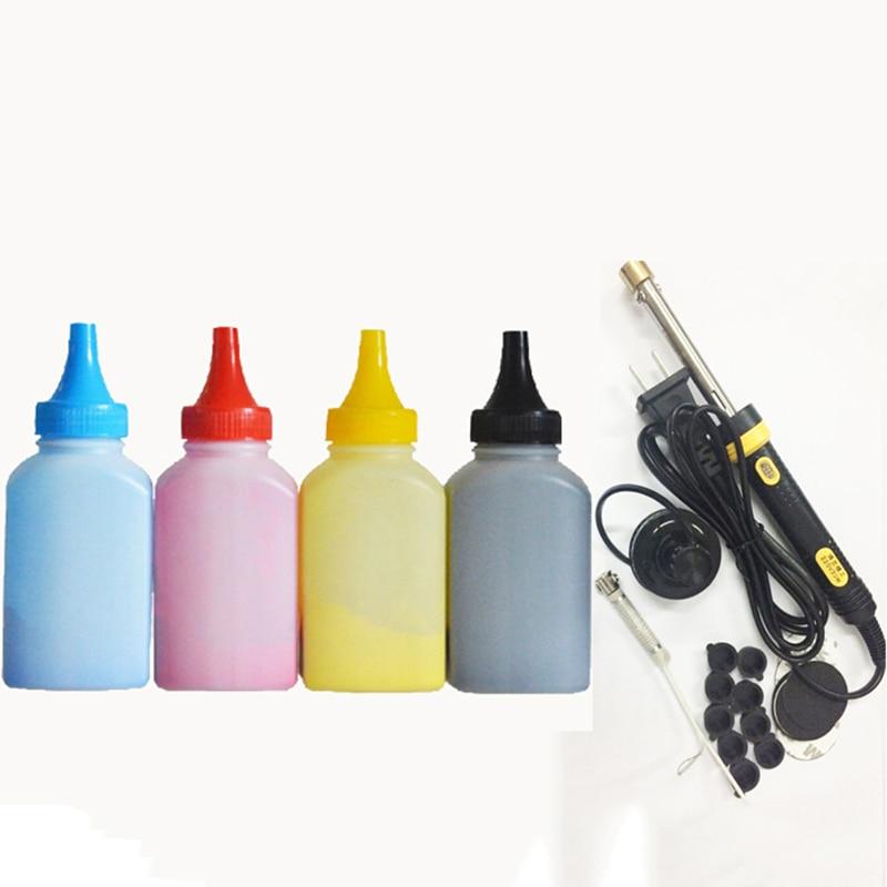 Vilaxh CF500A 202A Toner poudre + cartouche de Toner recharge trousse d'outils pour imprimante HP LaserJet Pro M254dw 254nw M280nw M281fdw 281fdn