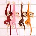 Macaco Kawaii Bichos De Pelúcia Braço Longo Macaco De Braço A Cauda Plush Toys Stuffed Animal Boneca Macaco Macaco Colorido Cortinas