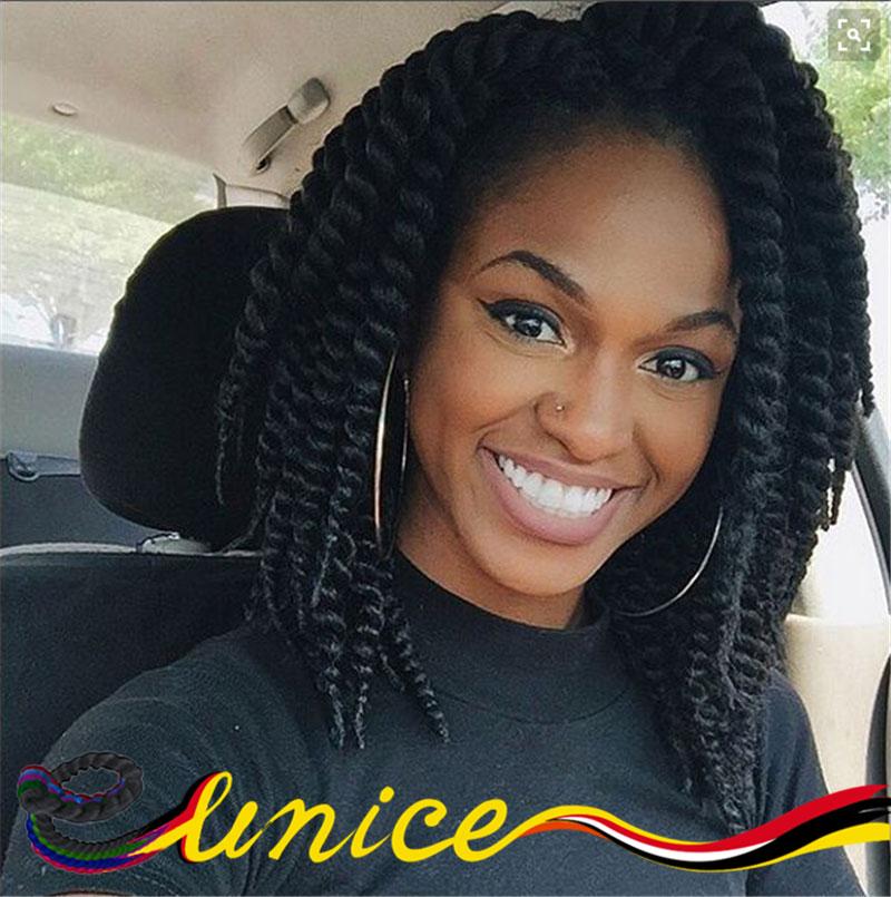 """Marley Hairstyles: Individual Braids Crochet Braids Marley Hair 12"""" Havana"""