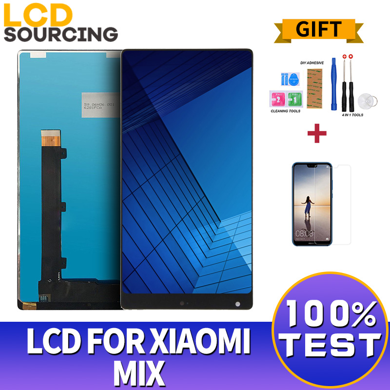 6.4inch For Xiaomi Mi Mix LCD Display Touch Screen Digitizer Assembly With Frame For Xiaomi MIX LCD Replacement6.4inch For Xiaomi Mi Mix LCD Display Touch Screen Digitizer Assembly With Frame For Xiaomi MIX LCD Replacement