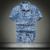 Camisas casuais 2017 homens camisa de secagem rápida de praia poliéster clothing verão camisa de manga curta camisa dos homens camisa de vestido de praia floral