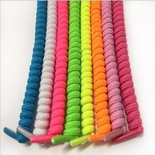 High elastic lazy shoelaces nylon solid shoelaces no tie shoelaces for women font b children b