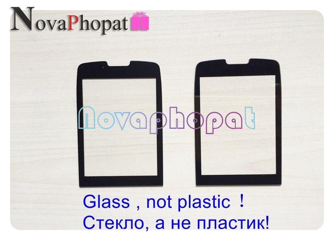Novaphopat 10 pcs/lot Pour Philips Xenium X5500 Écran Lentille En Verre Pièces De Rechange + Suivi