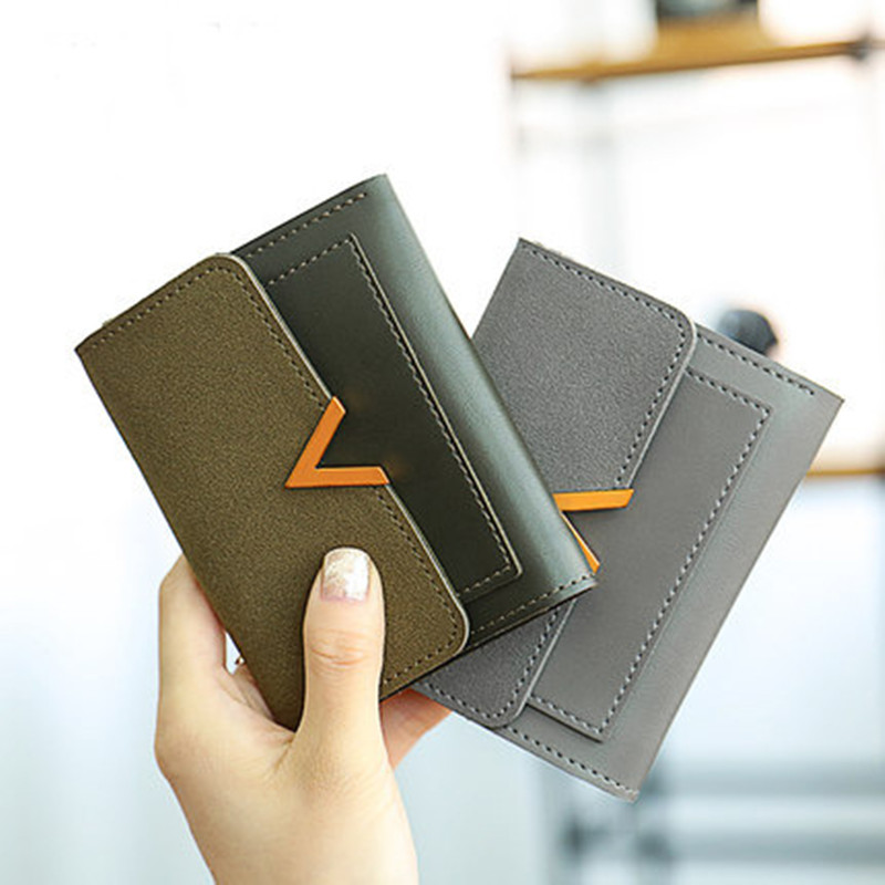 Brand Designer Small Luxury Wallets Women Coin Purses Leather Clutch Slim Phone Wallets Female Money Bags Credit Card Holders new designer leather phone wallets female long fashion red purses women money bags card holders zipper pocket hasp clutch bags