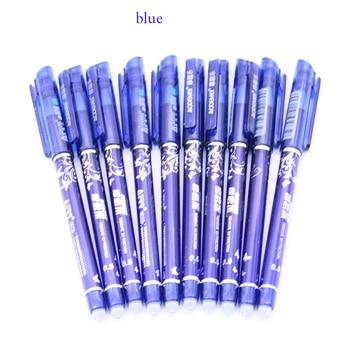 10pcs erasable pen blue black ink blue magic pen office supplies.jpg 350x350