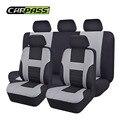 (Carro-Pass) Tecido de Malha de Auto Interior Acessórios Clássico Primavera Projeto Styling Car Seat Covers Universal Car-covers Protector