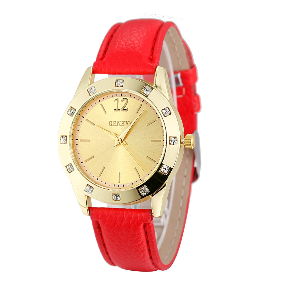 Feminino Brand Watch Women Ladies Luxury Diamond Leather Quartz Wrist Dress Watch Montre femme Clock Female  Relojes mujer 2018 weiqin hot sale luxury geneva brand crystal watch women ladies fashion dress quartz wrist watch relogios feminino 2017 clock