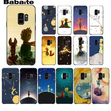 The Little Prince and the Fox Photo Soft Phone cover Case For Samsung Galaxy note 8 note9 s7 s6edge s9 s8 plus funda Babaite