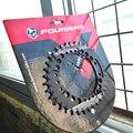 FOURIERS горный велосипед овальная передняя Звездочка шатун 34t 36t с болтами алюминиевый BCD104 CNC сделано сеть MTB кольцо в 3 вида цветов