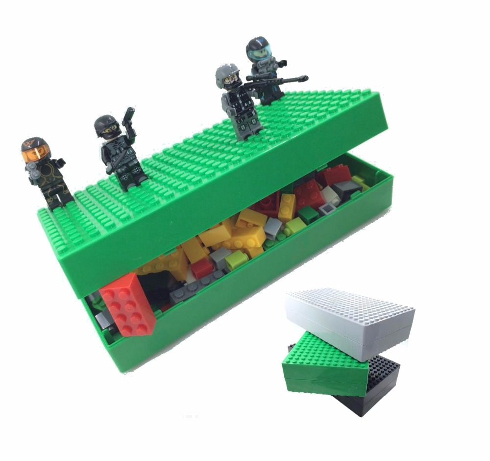 New DIY Creative Multi-function Building Blocks Box Compatible Legoe Storage Box for Toys Blocks Brinquedos Building Bricks Gift kz headset storage box suitable for original headphones as gift to the customer
