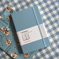A5 Notebook Daily Memos Vintage Hard Copybook High Quality Office Stationery Travel Journal Notebook Horizontal Page