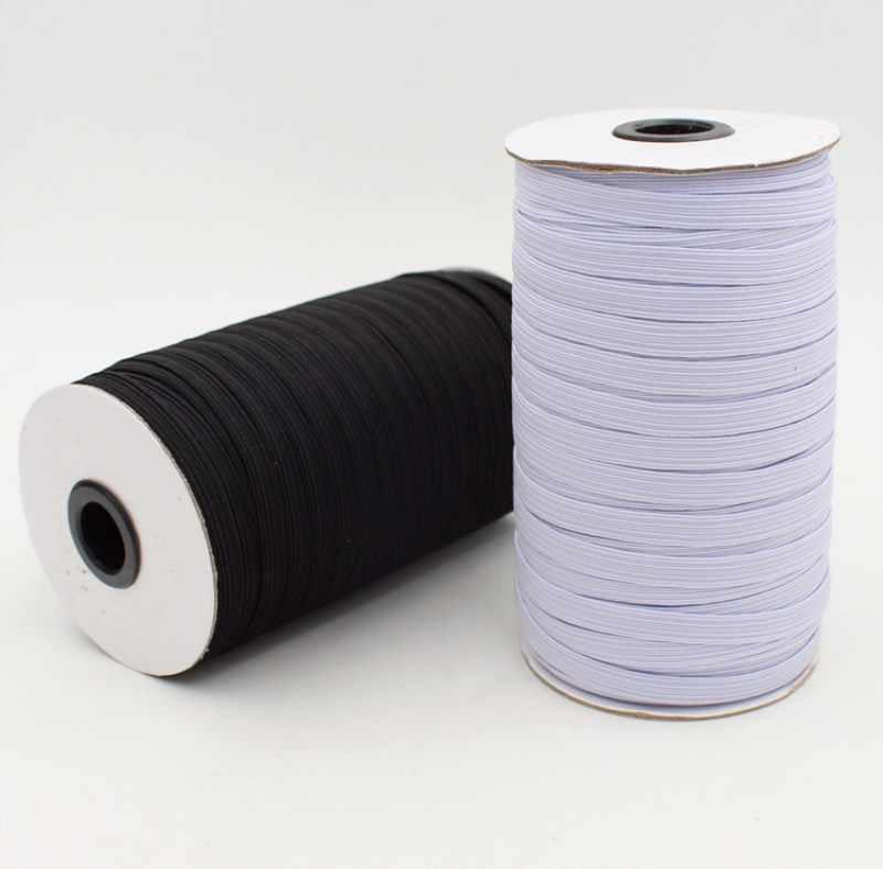 0,41 EUR//m 25 metros papel agujero elástica 20mm blanco