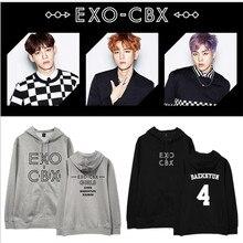 2017 NEW KPOP Exo side Bo Yin Japan concert CBX album GIRLS the same hooded men