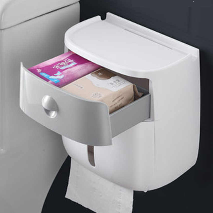 Toilet Paper Holder Bathroom Double