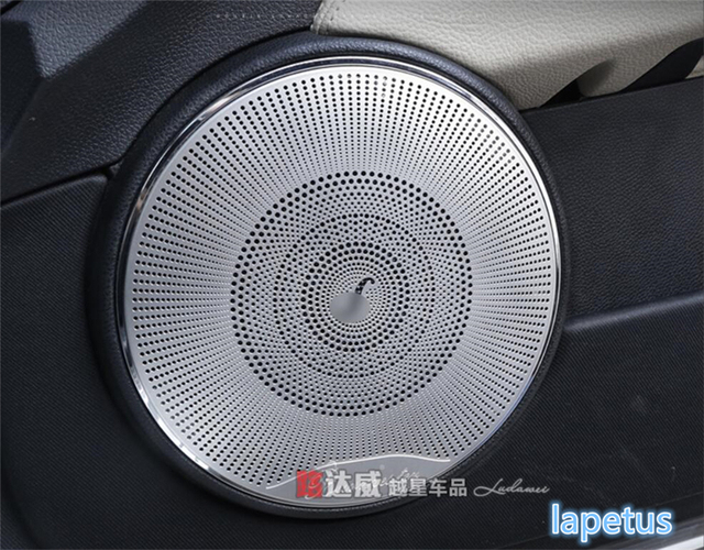 US $74 65 14% OFF|For Mercedes Benz C CLASS W204 2010 2013 Inner Car Door  Speaker Audio Loudspeaker Decoration Frame Cover Trim 4 Piece-in Interior