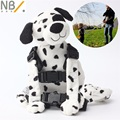 Newbealer  Safety Harness Strap Baby Kids Child Toddler Walking Backpack Reins Bag Dalmatian Puppy