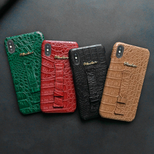 Crocodile Skin PU Leather Wrist Strap Case For iPhone 11 Pro 6s 6 7 8 Plus X XS Max XR Hand Strap Holder Hard Cover For Airpods стоимость