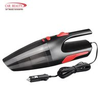 120W DC 12V Car Vacuum Cleaner Portable Wet&Dry Dual Use Super Suction Handheld Auto Cleaning Electronics Accessories