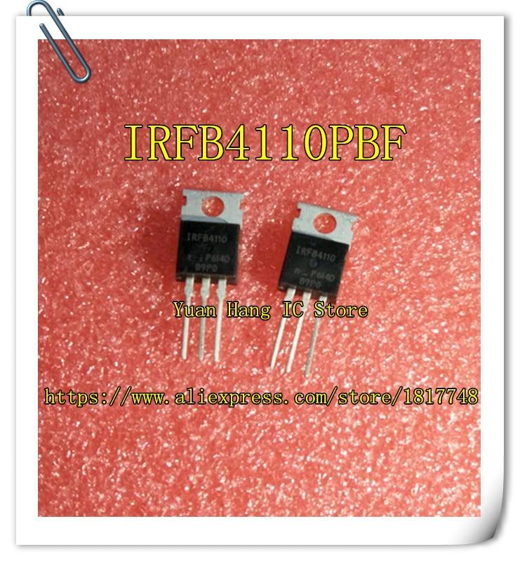 Free Shipping 20PCS/LOT IRFB4110PBF IRFB4110 4110 IR TO-220 MOS Field Effect Transistor