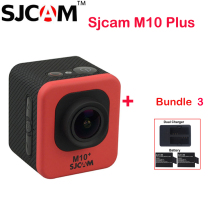 100% Original SJCAM M10 Plus WiFi 30M Waterproof Outdoor Sports Action Camera Sj M10 Cam DVR+2 Battery + Dual Charger