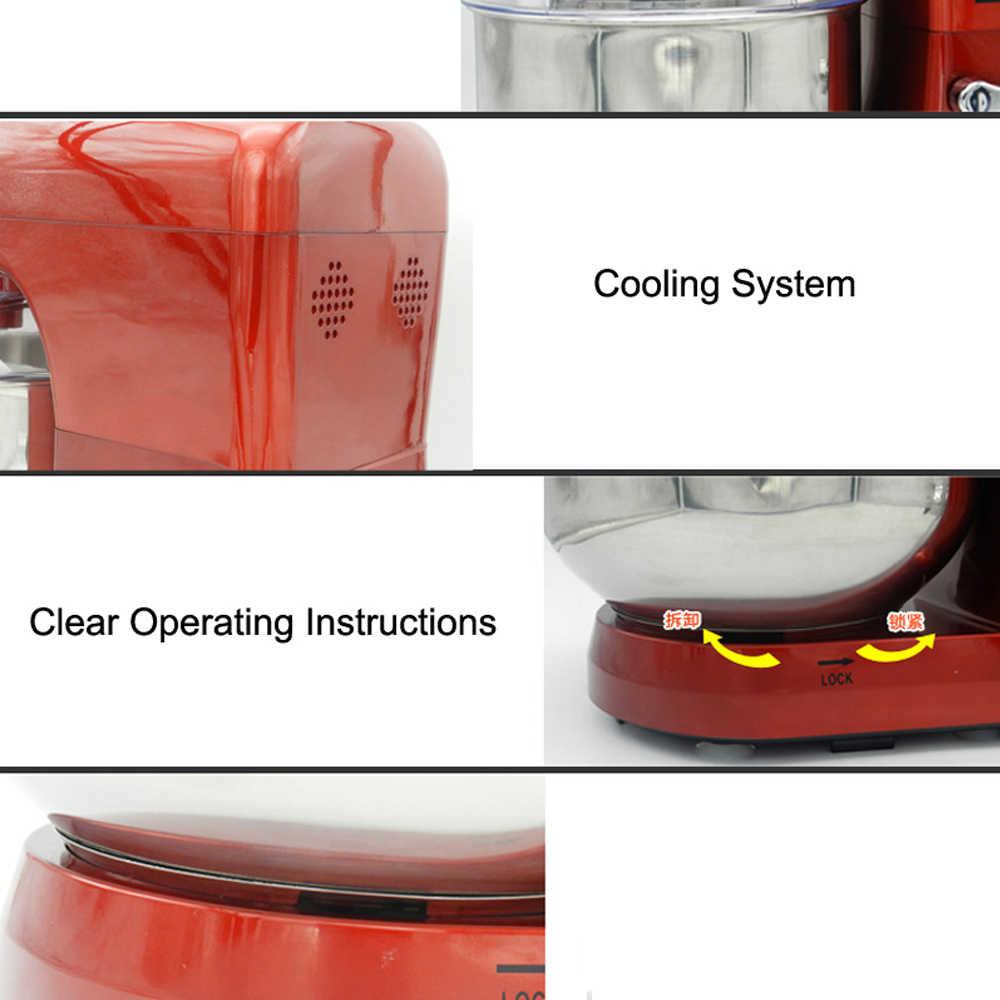 ITOP Frullatore Elettrico 6 Velocità 1200 W Commerciale e Alimentare Mixer Frullino per le uova Noodle Maker Con Pala di Agitazione Frullino 110 V 220 V