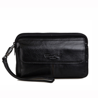 Hot Sale Genuine Leather Waist Bags For Men Luxury 6 5 7 0 Inch Mobile Phone