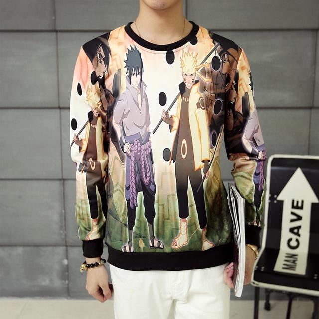Naruto 3D Character Sweatshirt