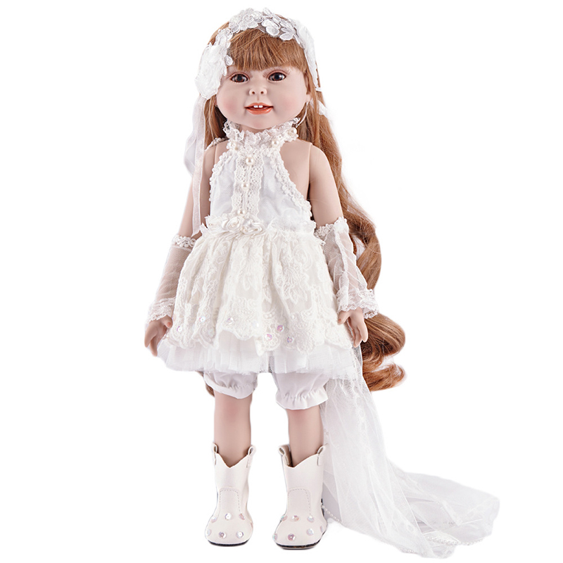 New Silicone Vinyl Doll Reborn Babies 43cm Dolls for America Girl Toys  Lifelike Newborn Baby Bonecas Best Gift For Kids Child 1 45 cm silicone reborn babies dolls for girls toys lifelike newborn baby bonecas with clothes reborn silicone babies for sale
