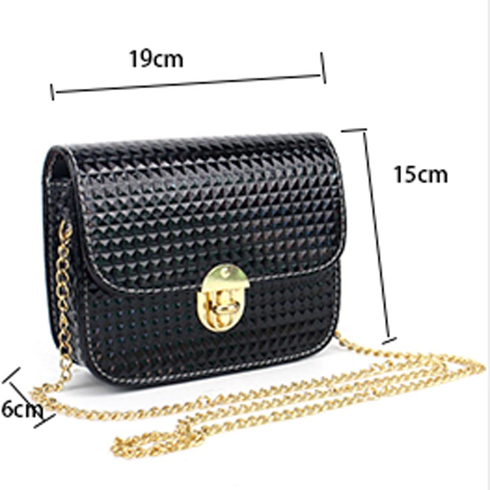 e98b6080ed91 Luxury Handbags Women Shoulder Bags Famous Designer Crossbody Bag Long  Chain Messenger Bag Women PU Leather Mini Handbag Bolsas