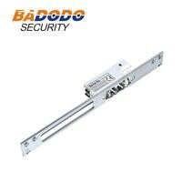Uzun Dar Plaka AB Kapı kapı kilidi Elektrik Çarpması güvenli/Güvenli güvenli ayarlanabilir erişim kontrolü için