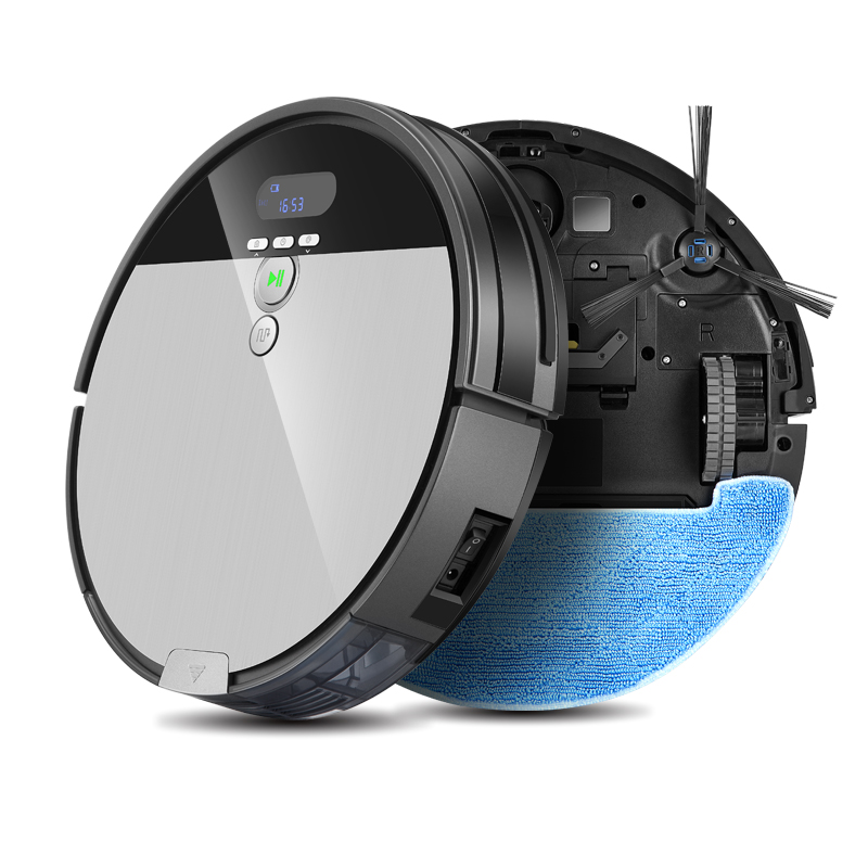ILIFE V8s Robot Vacuum Cleaner Sweep Wet Mop Navigation Planned Cleaning 0 75L Dustbin Water Tank Adjustable Schedule Household in Vacuum Cleaners from Home Appliances