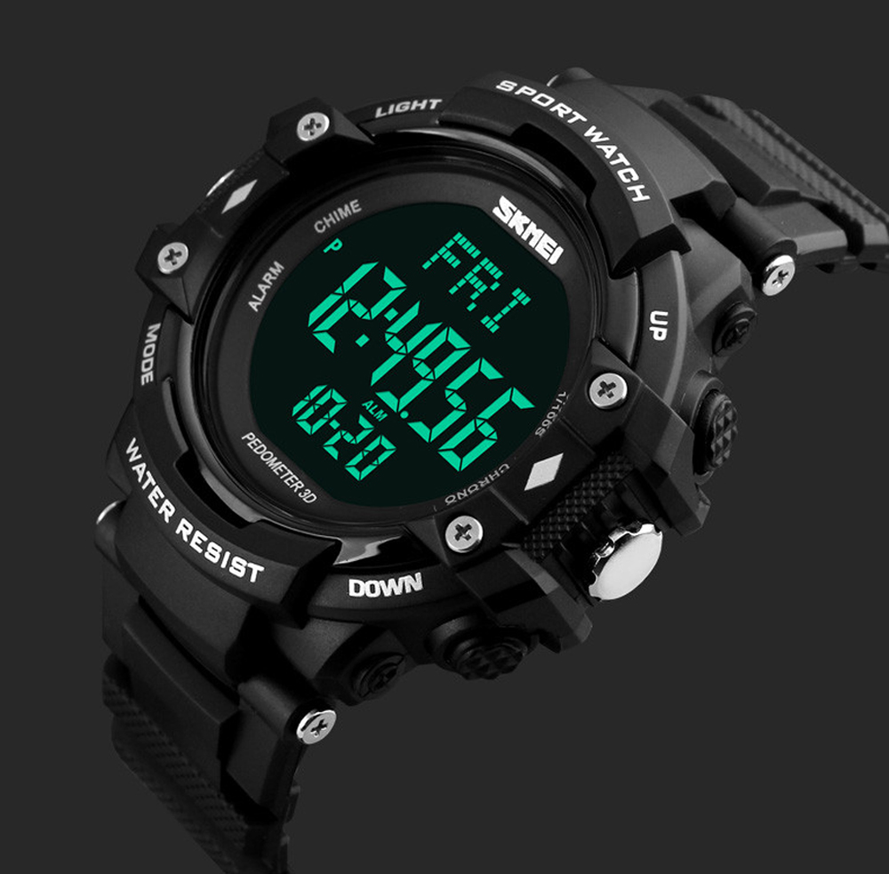NEW Luxury Brand Men Watch Men HeartRate Monitor Calories Digital Display Outdoor Sports Watches Reloj hombre <font><b>SKMEI</b></font> <font><b>1180</b></font> ZK30 image