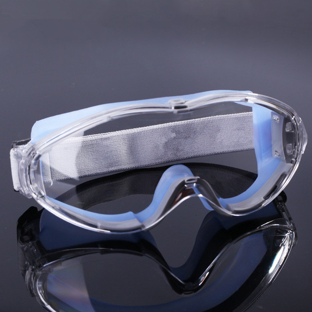 Transparent  Anti-Shock Protective Glasses Cycling  Windbreak Dust-proof Sand Insect-resistant Film Ski Goggles