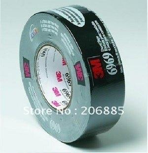 цена на 3M 6969 Duct tape/Ruban pour condults tape/moisture proofing tape/Black color