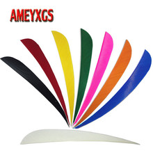 50pcs Archery Arrow Feather Turkey 5 inch For Carbon Bamboo Wood Hunting Accessory
