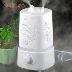 Dyfuzor olejków eterycznych 110 240V nawilżacz lampka nocna mgła aromaterapeutyczna Foger Maker olejek dyfuzyjny nawilżacze dla domu w Nawilżacze powietrza od AGD na