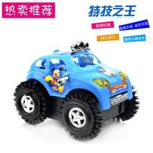 Elektrische kinderwagen kinderen elektrische speelgoedauto zal een salto draaien Stunt Auto kraam verkoop van speelgoed