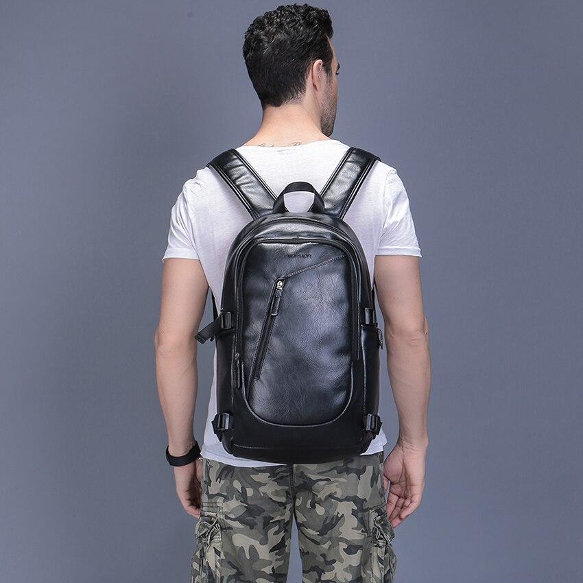 f69db4fbfdb2 Фото 1 2019 VORMOR бренд водостойкий 15,6 дюймов ноутбук рюкзак мужские  кожаные рюкзаки для ...