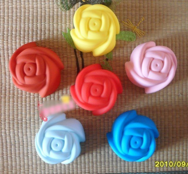 20pcs/lot 7CM Rosettes Cake Mold, Cupcake Mold, Decorating/liner Mould, Silicone Muffin Cup