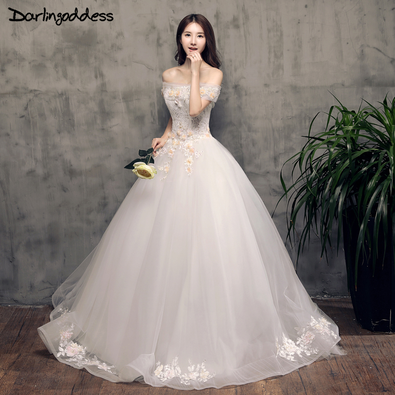 Amazing Real Photos 3D Flowers Wedding Dresses Lace Appliques Ball Gown  Alibaba China Princess Bridal Dress d06aaa603f98