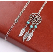 Small Handmade Feather Mini Dream Catcher Keyring Keychain Decor Car Bag Hanging Decoration Pendant Dreamcatcher Gift